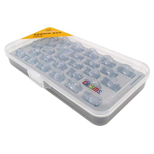 ckpsms Marke -# 9033P Spulen Kunststoff Kompatibel mit Pfaff 1469 1471 1472 1473 1475 1475CD 1520 Select 3.0 1069 6250 6270 Creative 2134 + (28PCS+Box)