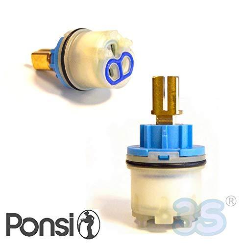 Cartuccia ricambio per miscelatori monocomando di Ø 25 mm - PONSI