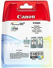 Canon 2970B011 CL-511 Wielokolorowy Kompatybilny Z Serią PIXMA Toner Zestaw 2 Sztuk