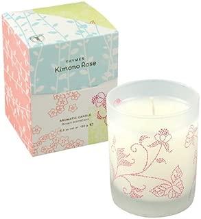 Thymes Kimono Rose 9 oz Candle