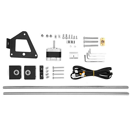 Kit de actualización de tornillo de avance de doble eje Z, accesorios de impresora 3D de tornillo de doble eje Z de aluminio, para Creality Ender 3/Ender 3S/Ender 3pro