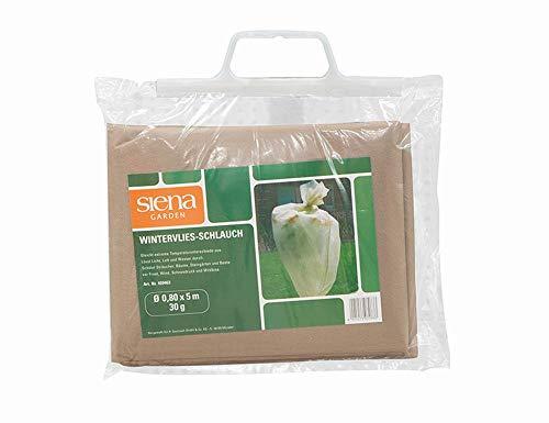Siena Garden 5 Stück Wintervlies-Schlauch beige 0,8 x 5,0 m, mit SB-Einleger