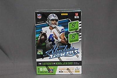 2020 Panini Absolute NFL Football BLASTER box (8 pks/bx)