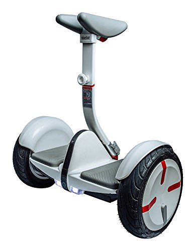 Ninebot by selbstbalancierender MiniPro 320, Scooter Elektro Unisex-Adulto M Bianco