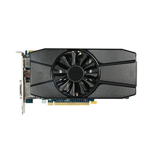 WWWFZS Tarjeta Grafica Computadora Escritorio Gráficos Fit For Sapphire Radeon HD 7770 2GB Tarjetas De Gráficos GPU Fit For AMD GDDR5 Tarjetas De Video PC Computer Gaming HDMI PCI-E X16