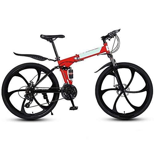 ZJBKX Mountain Road Bike Shock Absorber Bicicletas 26 pulgadas, velocidad variable plegable estudiante coche adulto para hombre Bicicletas Bycicle Bycycle para hombres