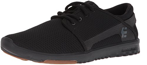 Etnies Men's Scout Skate Shoe, Black/Black/Gum, 10 Medium US