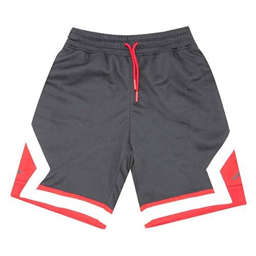 Nike Bermuda Bambino Nero/Rosso Scarlatto