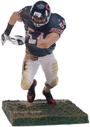 McFarlane Toys NFL Sports Picks Series 9 Action Figure Brian Urlacher (Chicago Bears) Blue Jersey White Pants