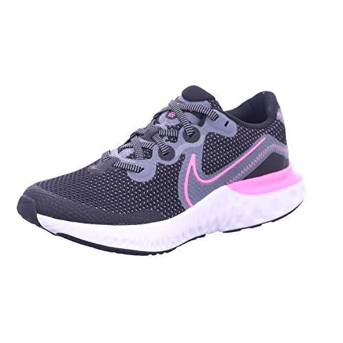 Zapatilla Nike Renew Run Negro/Fucsia Mujer 39