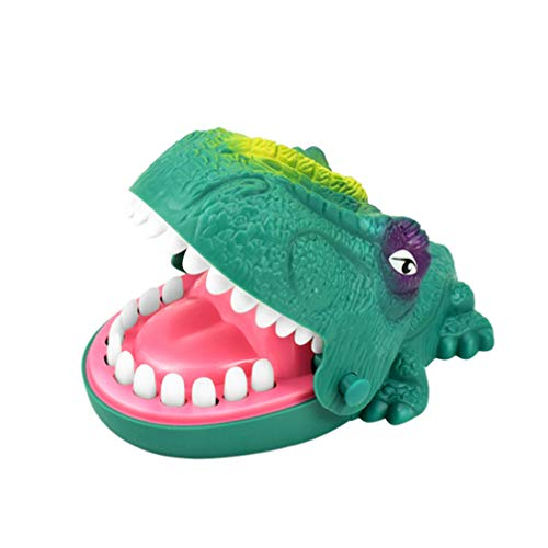 Toyvian Dinosaurier Beißen Finger Spiel Krokodil Zähne Spielzeug Spiel Lustiges Spielzeug Kinder Handpuppe Spielzeug Eltern-Kind Interaktives Spielzeug Party Streich Spiel Spielzeug