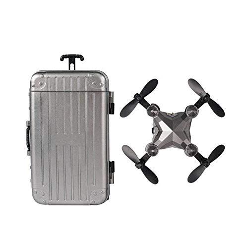 Zhenwo Mini-Drohne Folding Luft Fernbedienung Flugzeug, Mit Koffer Und 720P Kamera Gesture Kamera Smart-Folgen Lange Batterielebensdauer Für Anfänger,A