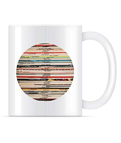 NA Blue Note Records Runde Klassische Kaffeetasse für Damen und Herren Teetassen