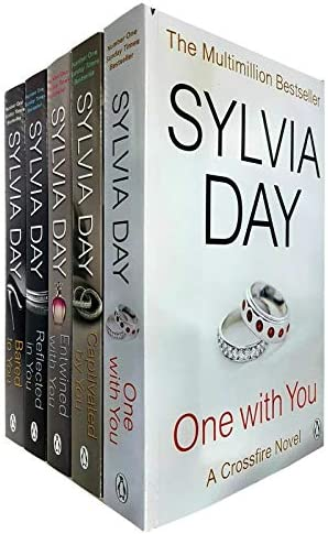 A Crossfire Novel 5 Books Collection Set By Sylvia Day One With You Captivated By You Entwined product image