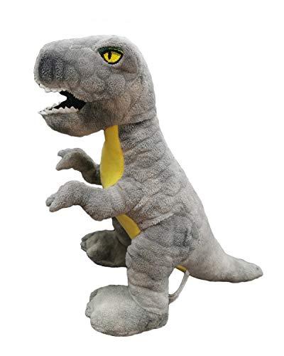 BARRADO - Plüsch Dinosaurier Tyrannosaurus Rex 30 Zentimeter - Qualität super Soft (Thor Grau 30 cm)