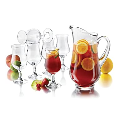 Libbey Modern Bar 7-piece Sangria Glass Entertainment Set