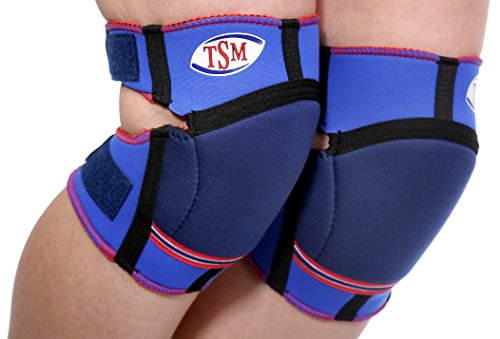 TSM Sportbandage Knieschoner Kids, Blau, One Size, 2151
