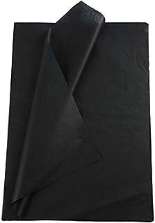 Découpage papier de soie 28 feuilles format 50x70cm Noir
