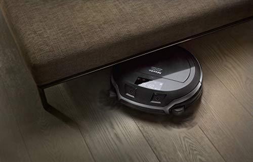 Miele Scout RX2 Home Vision Saugroboter (für jeden Boden, Staubsauger Roboter mit App-Steuerung, bis 2h-Akkulaufzeit, Roboterstaubsauger inkl. Smart Navigation) schwarz grau
