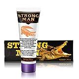 TiSkying Crème Énergétique Homme, Crème de croissance damélioration masculine Gel Enhance Extender Cream Gel de Massage Parties Privées pour une meilleure performance masculine (50 ml)