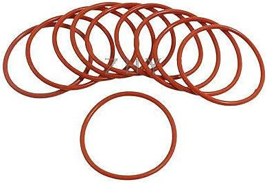 Vivona Gaskets 10 Pcs 36mm Outside Rubb Opening large release sale OFFicial Thick Industrial 2mm Dia