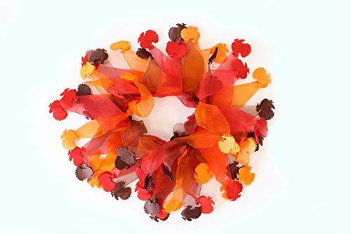 Midlee Thanksgiving Turkey Decorative Dog Collar (Medium)