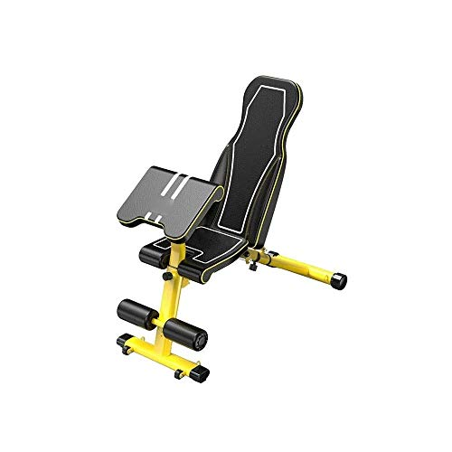 Hammer Regolabile Panca Pesi, Utility ginnastica Panca for Full Body Workout, Multi-Purpose pieghevole Incline Decline Benchs, funzionale Professional Fitness Chair Sit-up Bench Press Bench, President