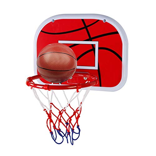 Canasta de baloncesto para niños 38cm Los niños que cuelgan del tablero trasero colgar de la pared niños Indoor baloncesto en rack de disparo Home Box bebé de disparo Juguetes Aro de baloncesto para n