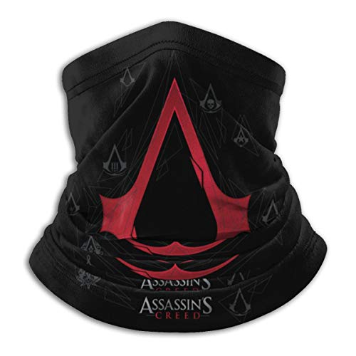 Assassin's Creed Seamless Face Mask Bandanas for Dust, Outdoors, Festivals, Sports