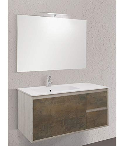 Global Trade Mobile Bagno Linea Clever 105 cm cod. clever105.3.u/00