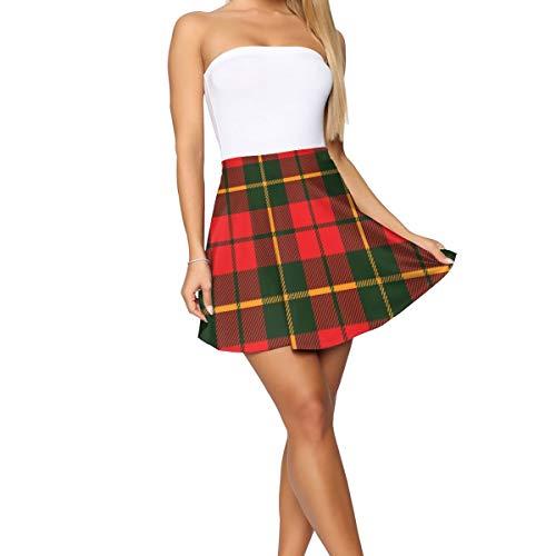 sanlianwangluokeji Design Theme Summer Women's Shorts Skirt Tartan Fabric Texture
