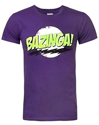 Worn Big Bang Theory Bazinga Men's T-Shirt by