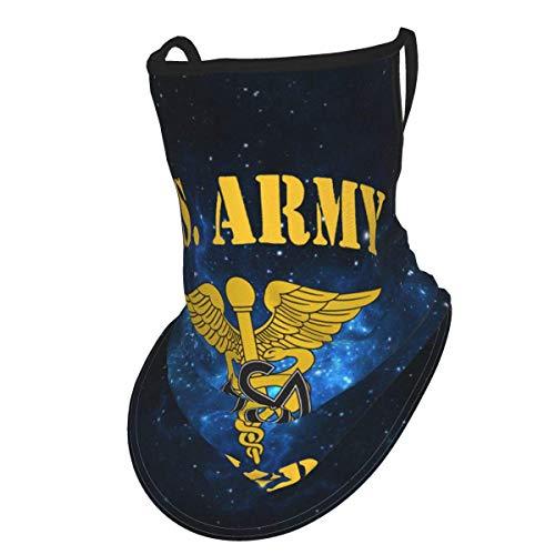 Us Army Medical Service Corps Veteran Face Mask Bandana Neck Gaiter Head Band Balaclava