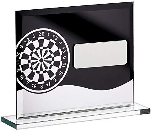 Womack Graphics GLM61A Glasblock mit Gravur bis zu 50 Buchstaben
