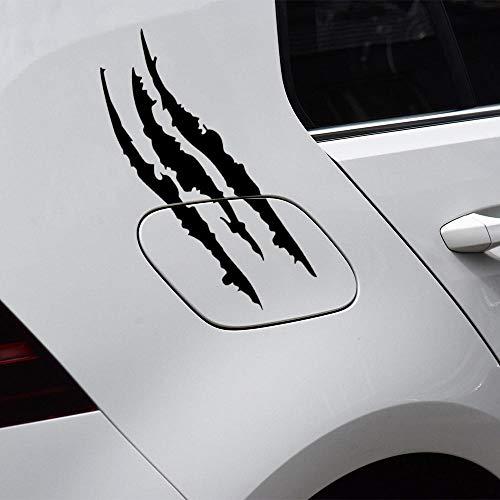YiMall 4 PCS,40x37cm,Car Stickers Reflective Monster Scratch Stripe Claw Marks Car Headlight Lights Brow Decor Sticker Decal Waterproof,