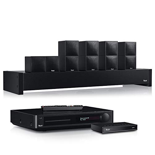 Teufel Cubycon Impaq Streaming Schwarz Blu-ray-, CD-Receiver Musik Sound Heimkino Bluetooth Komplettanlage