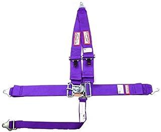 Racerdirect Racing Harness SEAT Belt 5 Point SFI 16.1 Latch & Link Purple
