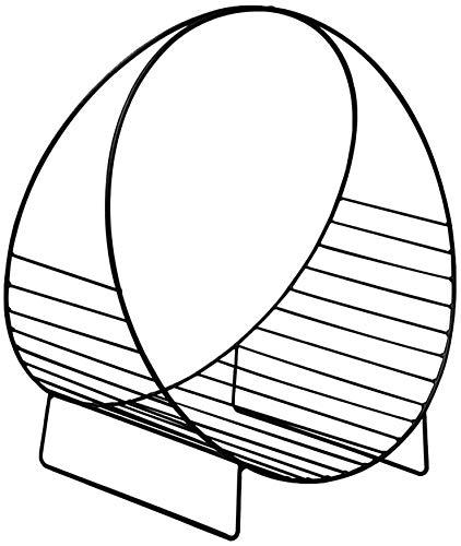Estanteria Estantería for Suelo de sobremesa Bastidores Hierro Forjado Mini Tabla Magazine Rack Multicolor estantería 48x33x53cm Xuan - Worth Having (Color : Black)