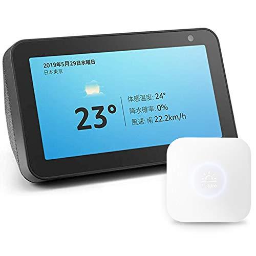 Echo Show 5 Charcoal + Nature Smart Remote Control Remo Mini