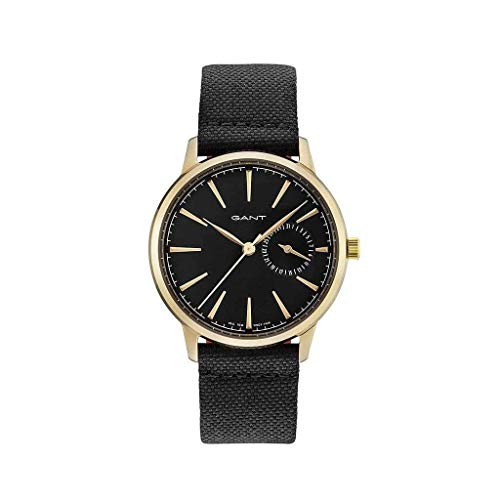 GANT Damen Analog Quarz Uhr mit Leder Armband 7630043917046
