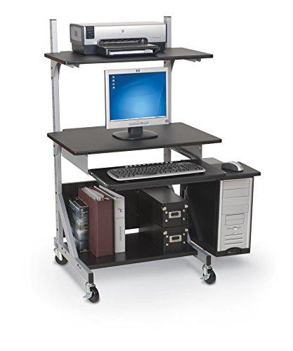 "Balt Alekto Industrial Sit & Stand Workstation, 27.5"" - 52.5""H x 30""W x 24""D"