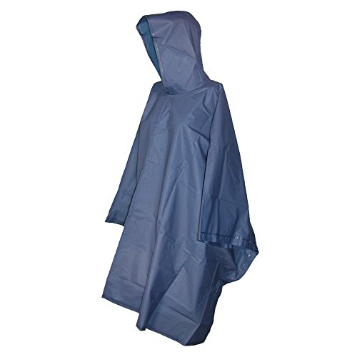 Totes Navy Blue Adult Rain Ponch