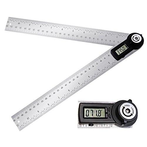 Digital 2-in-1 Winkelsucher Meter Winkelmesser Lineal 360 ° 600mm CE-Kennzeichnung Digitale LCD-Anzeige
