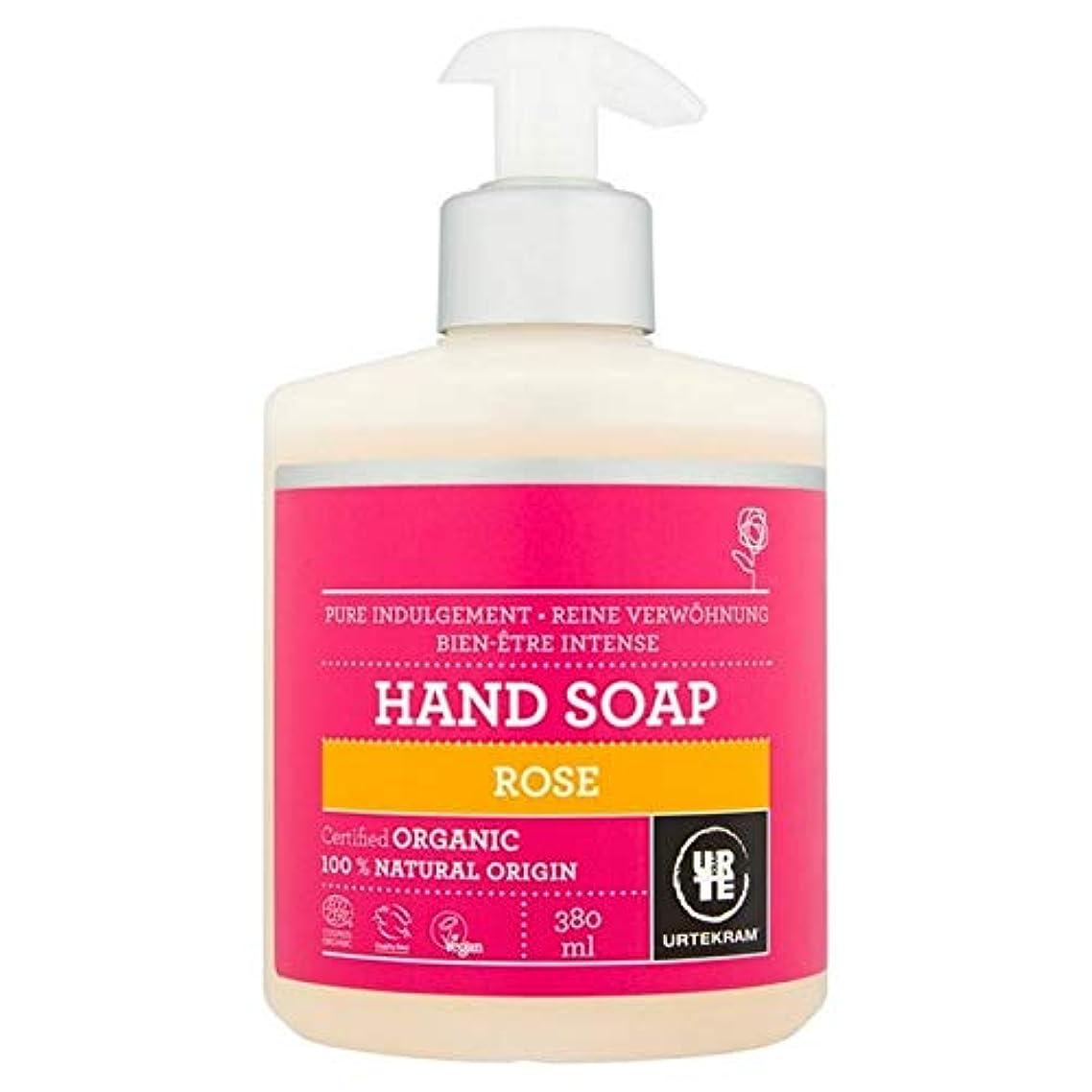 喪薄める前提条件[Urtekram] Urtekramは、液体ハンドソープ380ミリリットルローズ - Urtekram Rose Liquid Hand Soap 380ml [並行輸入品]