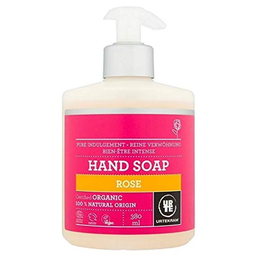靴マット使役[Urtekram] Urtekramは、液体ハンドソープ380ミリリットルローズ - Urtekram Rose Liquid Hand Soap 380ml [並行輸入品]