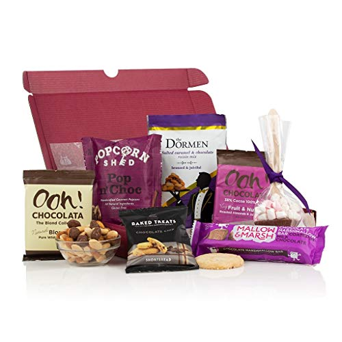Chocoholics Letter Box Gift - Letterbox Gift Hamper for Christmas - Chocolates Through The Door!