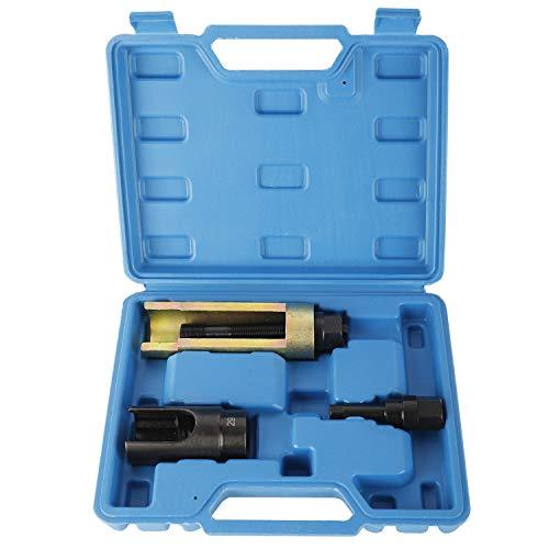 FreeTec Mercedes CDI Diesel Einspritzdüsenauszieher Injektoren Auszieher Abzieher für Einspritzdüsen Werkzeug 3-TLG.