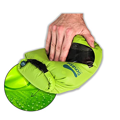 Scrubba Mini Wash Bag Ultra-Compact Laundry Bag Ideal for...