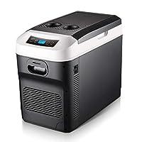 カー冷蔵庫冷凍庫ミニ冷蔵庫28L冷暖房ボックス車、トラック、家庭用ユニバーサル12V / 24V / 220Vデジタル表示温度制御