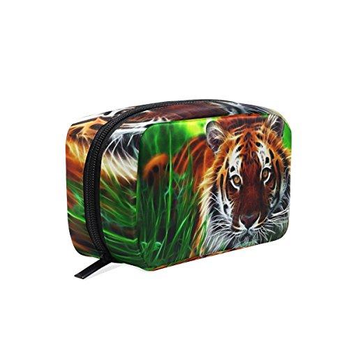 Dragonswordlinsu Coosun Tigre 3d Digital Picture Cosmétique Pochette Maquillage Sac organiseur de voyage Coque Pochette de toilette pour femme